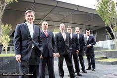 El equipo de administración de Fibras Uno/Gonzalo Robina, Gerardo Del Ángel, Javier Elizalde <br />Eleazar Pulido, Ignacio Tortorielo, Jesús Estrada