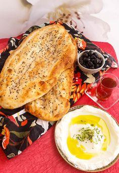 berberibröd Bread Recipes, Baking Recipes, Cookie Recipes, Vegan Recipes, Vegan Food, No Bake Desserts, Dessert Recipes, Scandinavian Food, Mediterranean Dishes