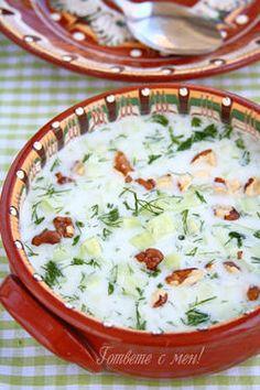 Tarator (bulgarian cold soup)