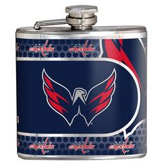 Great American Products Washington Capitals Stainless Steel Hip Flask
