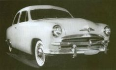OG | 1949 Ford | Full-size clay model designed by Dick Caleasin dated 1946