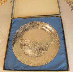 Vintage - Stainless Steel - Decorative Serving Plate - Nibbles Tray - 6 /15.24cm