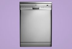 Dishlex dishwasher grey on purple