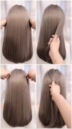 hairstyles for long hair videos Hairstyles Tutorials Compilation 2019 Work Hairstyles, Little Girl Hairstyles, Hairstyles For School, Braided Hairstyles, Party Hairstyles, Hair Movie, Medium Hair Styles, Long Hair Styles, Long Hair Video