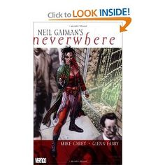 Neil Gaiman's Neverwhere, wonderful drawings! The story of Door, from the world below London.