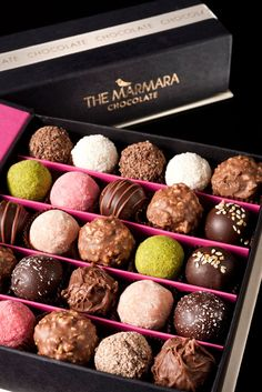 The Marimara - Rolls Royce of handmade chocolates ----- Congratulations to all Miss M's Girls
