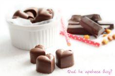 Bombones de chocolate y maíz (sin azúcar) ~ Qué te apetece hoy?