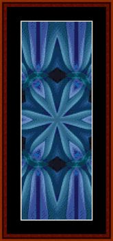 Click to view FREE Fractal counted cross stitch pattern! February 2015 only.