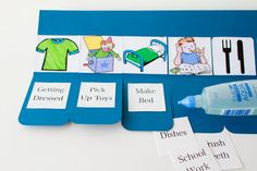 Chore Chart Tutorial  Make the chart that fits your child and situation!!