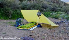 Writer in the Wild: Gear Review: Sea to Summit Escapist Tarp