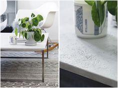 "DIY - ""concrete"" table"