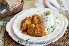 Pollo con verduras -