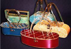 Vintage Lucite Handbags, 1950's