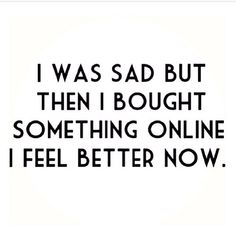 retail therapy // #saywhat