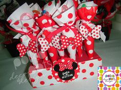 "Polka Dots | Party Design: CANDY BAR ""MINNIE"" - By Polka Dots"