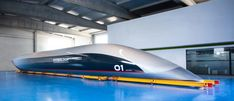 The world's first full-scale passenger Hyperloop capsule, gets ready to head to Toulouse R&D facility for optimization.