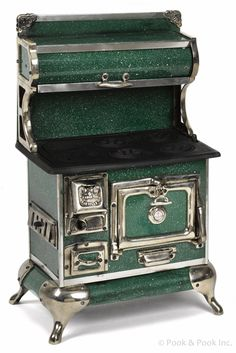 Green Toy Stove