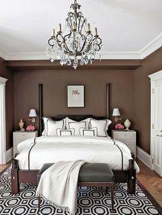 yatak odasında nötr renkler