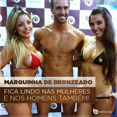 Todo mundo fica mais sexy com a pele bronzeada!   Compre o seu Best Bronze e faça o teste: www.bestbronze.com.br