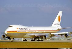 Delivered to National on 8 September 1970. Five months later she taxies for departure from Miami. Sold to Northwest on 30 April 1976 as N620US. - Photo taken at Miami - International (Wilcox Field / 36th Street / Pan American Field) (MIA / KMIA) in Florida, USA on February 7, 1971.
