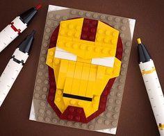 brick sketches lego portraits by chris mcveigh powerpig 12 300x250