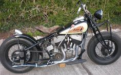 Indian Chief Bobber
