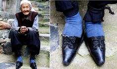 The last of the women with bound feet: 102-year-old whose toes were broken when she was just 2 years old