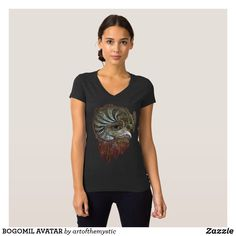 Shop BOGOMIL AVATAR T-Shirt created by artofthemystic. Wardrobe Staples, Avatar, My Design, Shop Now, Mens Tops, T Shirt, Shopping, Women, Fashion