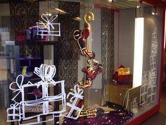 Raam decoratie sinterklaas