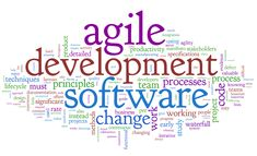 Agile development is an umbrella term that describes several agile methodologies which includes Scrum, Lean, Velocity tracking, XP, Crystal, GSD, FDD  DSDM