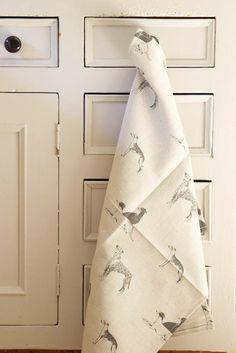 Long Dog Tea Towel