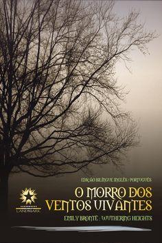 """""""O Morro dos Ventos Uivantes"""" - Emily Bronte Uma capa q faz jus ao clássico."""