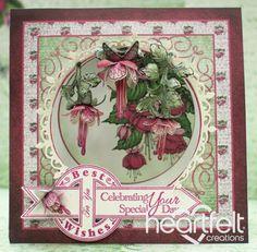 Heartfelt Creations | Cascading Fuchsia Celebrating