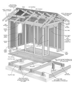Free Slant Roof Shed Plans - Woodwork City | Someday
