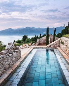 It is a real refreshment in hot summer days with a swimming pool in your own backyard. Moreover, an innovative and exotic swimming pool can make your small backyard receive luxurious and attractive look. So we provide some swimming pool design ideas for you. Here you can find the swimming pools. #luxurypools #backyardswithpools