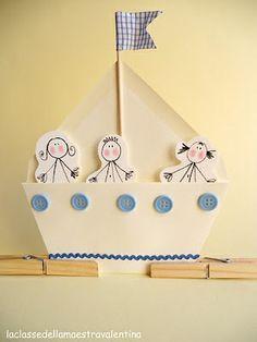 loďka z obálky
