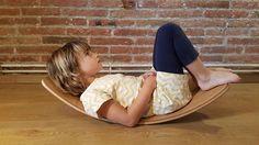 Wooden Toy Curvy Board RockingBoard Balance Board