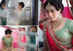 Stunning Bridal Hair and Makeup by Ravita Pannu and Reena Sangar for Bride Anneka of WeddingSutra. Photos Courtesy- Salshan and team