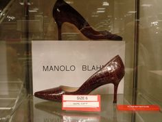 A Pair of Manolo Blahnic Shoes