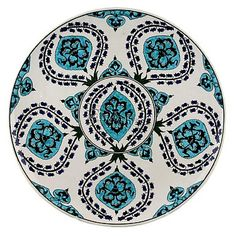 2013 çini tabaklar    gülser Turkish Art, Turkish Tiles, Ceramic Wall Art, Ceramic Pottery, Art Object, Textile Patterns, Islamic Art, Traditional Art, Decorative Plates