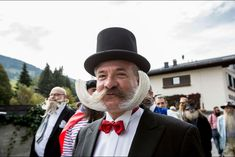 The World Beard And Mustache Championships 2015 in Leogang, Austria Full Beard, Weird News, Strange Photos, Beard No Mustache, My Heart Is Breaking, Opening Ceremony, Facial Hair, Great Photos, Curly