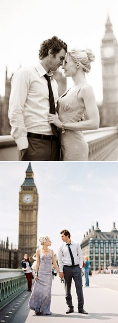 pre-wedding in London, hints of london in the background
