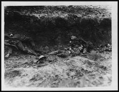Common scene in a German trench after our men had been over | Flickr - Photo Sharing!