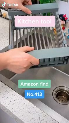 Cool Gadgets To Buy, Cool Kitchen Gadgets, Home Gadgets, Kitchen Items, Gadgets Shop, Best Amazon Buys, Best Amazon Products, Kitchen Organization, Kitchen Storage