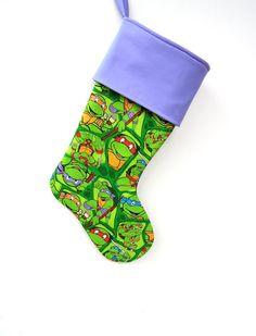 Teenage Mutant Ninja Turtles Stocking Christmas by ChristmasCreate, $30.00