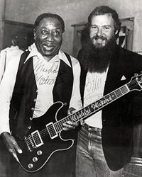 Muddy Waters and Billy Gibbons