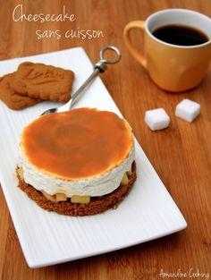 Voici une recette de cheesecake aux pommes, spéculoos, mascarpone et confiture de lait, un ensemble qui se marie très bien ! En plus ce dessert est sans cuisson et plutôt rapide à réaliser ! Et je peux vous dire qu'il a eu grand sucés ;-) Ingrédients...