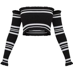 38 Ideas Knitting Sweaters Stripes Jumpers For 2019 Teen Fashion Outfits, Edgy Outfits, Cute Casual Outfits, Cute Fashion, Cropped Knit Sweater, Jumper Shirt, Crop Top Sweater, Knit Shirt, Crop Shirt