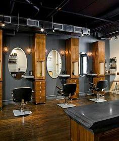 Not those mirrors though salon interior design, barber shop interior, barber shop decor, Barber Shop Interior, Barber Shop Decor, Beauty Salon Interior, Beauty Salon Design, Salon Interior Design, Interior Decorating, Zen Decorating, Beauty Salon Decor, Schönheitssalon Design