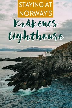 Staying at the Krakenes Lighthouse on the most stormy part of Norway's west coast Beautiful Places To Visit, Places To See, Show Me Photos, Northern Lights Norway, My Road Trip, Alesund, Europe On A Budget, Europe Holidays, Ocean Sounds